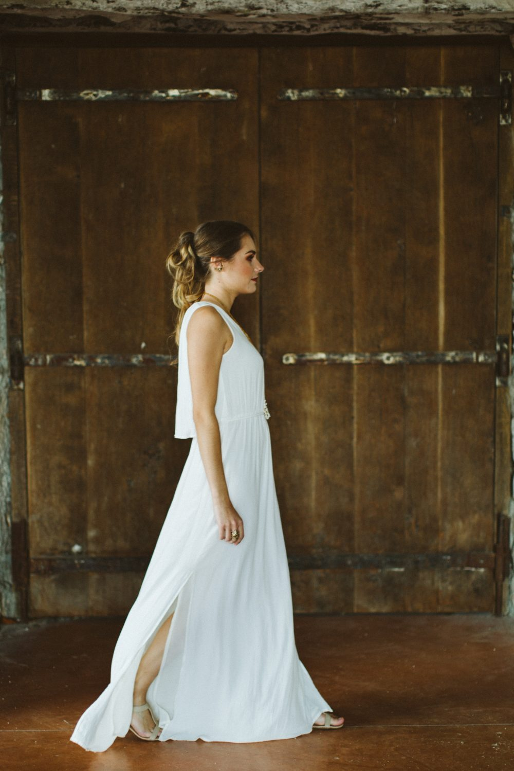 Larzac wedding inspiration portrait