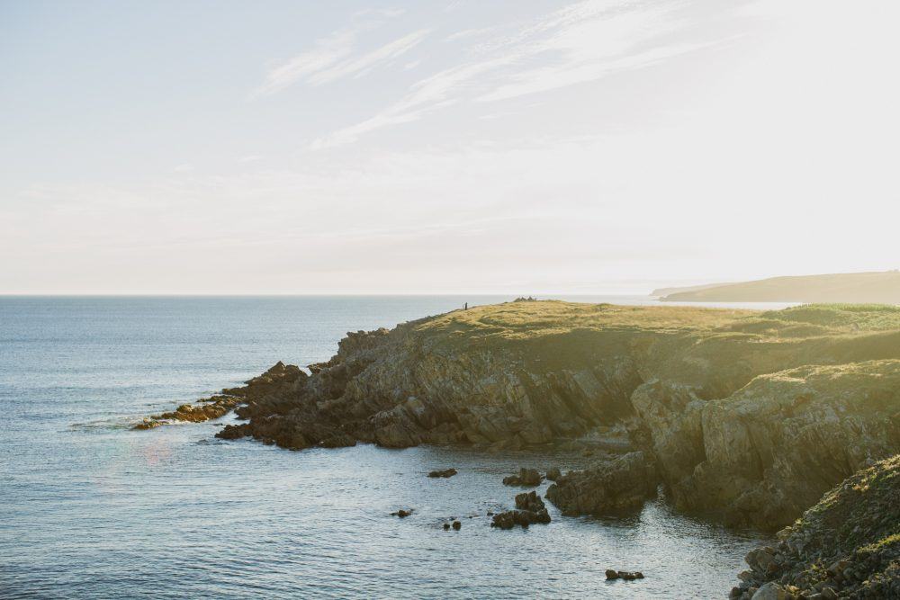 Brittany inspiration photoshoot wilderness seaside coastal wedding