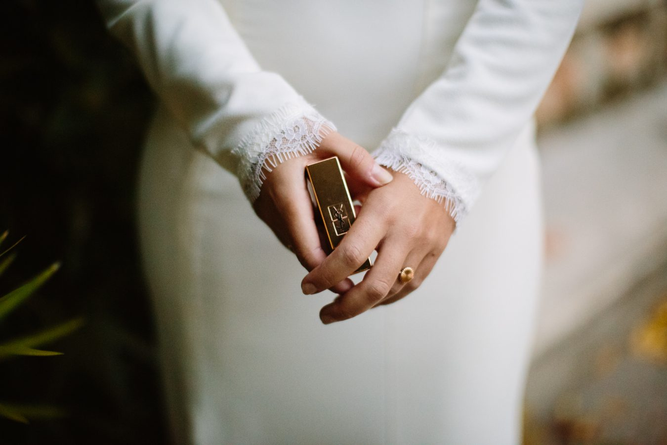 Elegant wedding dress collection photoshoot