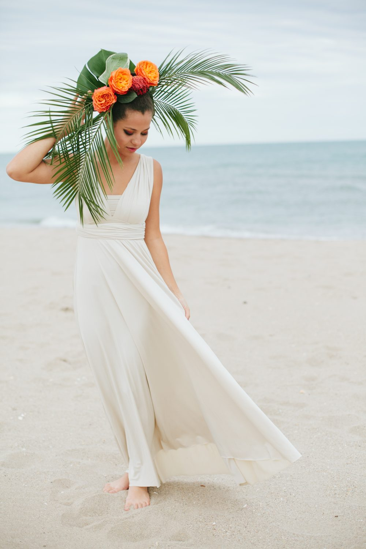 Tropical Beach Wedding photoshoot